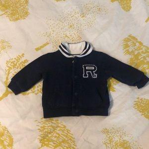 Ralph Lauren Letterman Sweatshirt Jacket
